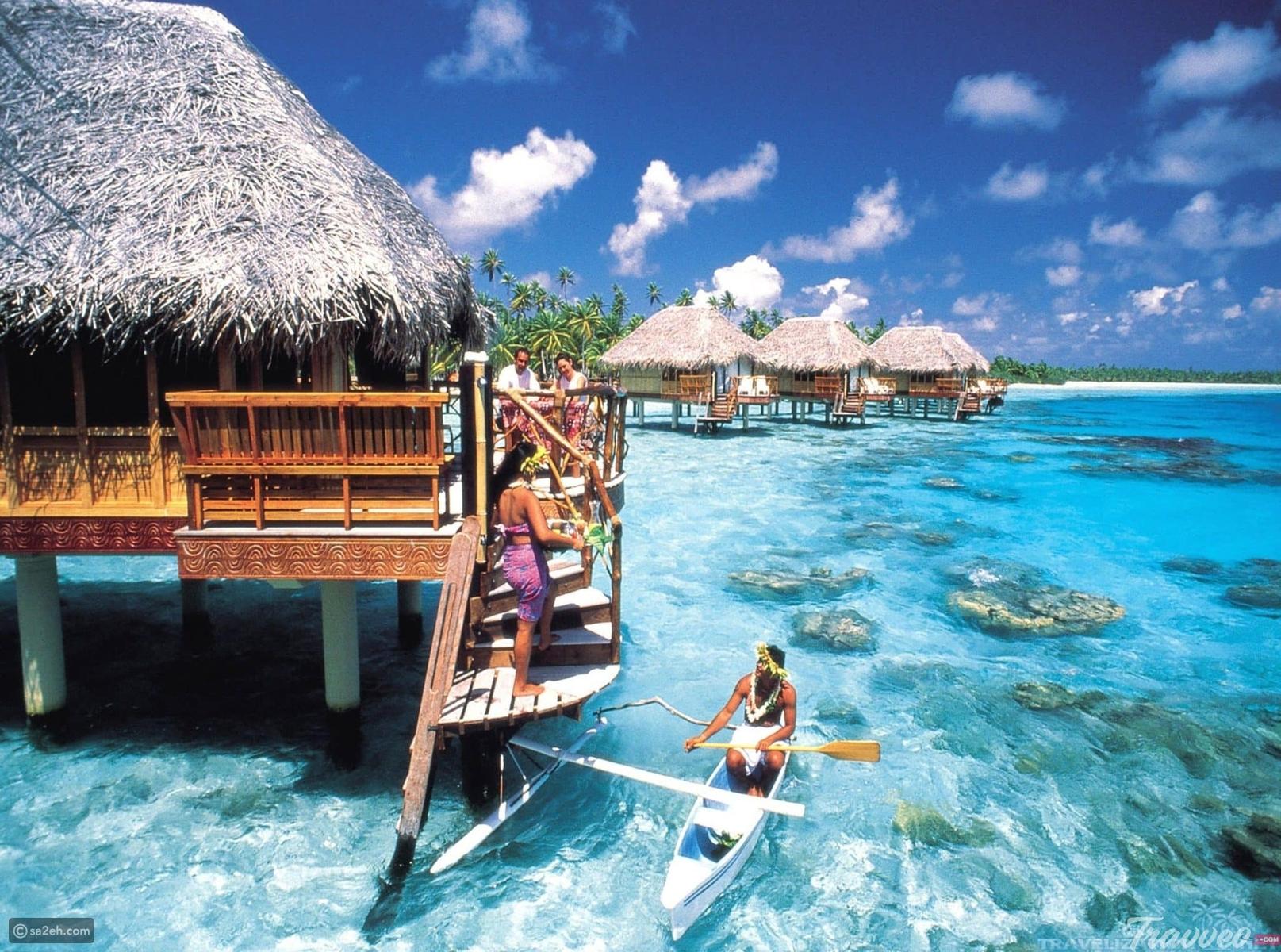 شاهد  ..  أجمل أماكن للسياحة والسفر في بورا بورا