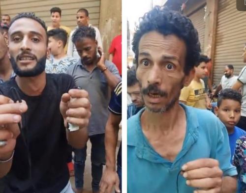 """شاهد: شهود عيان يكشفون تفاصيل مقتل """"حسين السميطي"""" في مجزرة المرج بمصر"""
