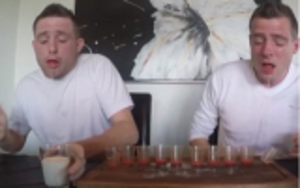 فيديو: شاهد ماذا حصل لهذا التوأم بعد شرب 130 حبة فلفل حارة