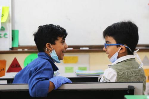 نداء دولي لإبقاء المدارس مفتوحة خلال أزمة كورونا