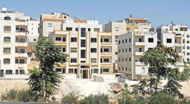 انخفاض مساحة الأبنية المرخصة 44.6%