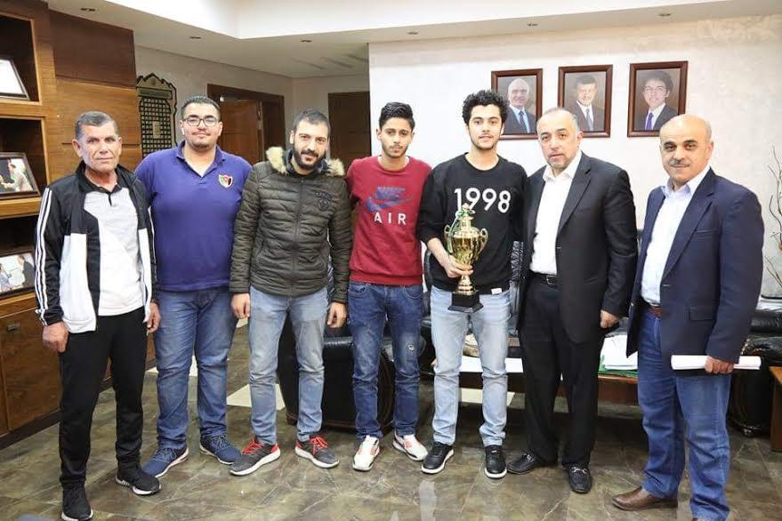 العلوم التطبيقية تفوز بالمركز الاول في بطولة كرة الطاولة للجامعات الاردنية