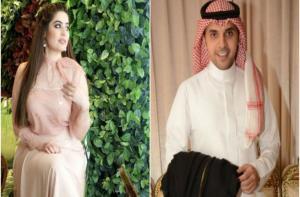بالصور والفيديو  ..  زفاف أسطوري للإعلاميين حمود الفايز و رؤى الصبان  ..  وهذه تكلفة الفستان!