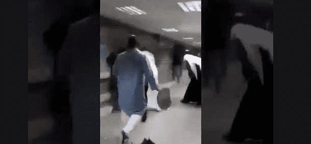 بالفيديو ..  مجزرة دموية بداخل مستشفى في الكويت