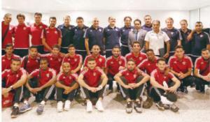 منتخب الكرة يواجه نظيره اللبناني وديا الليلة