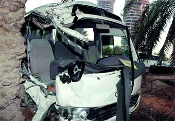 دير علا : وفاة و10 إصابات بحادث سير
