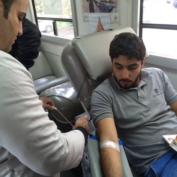 جامعة فيلادلفيا تقيم حملة للتبرع بالدم