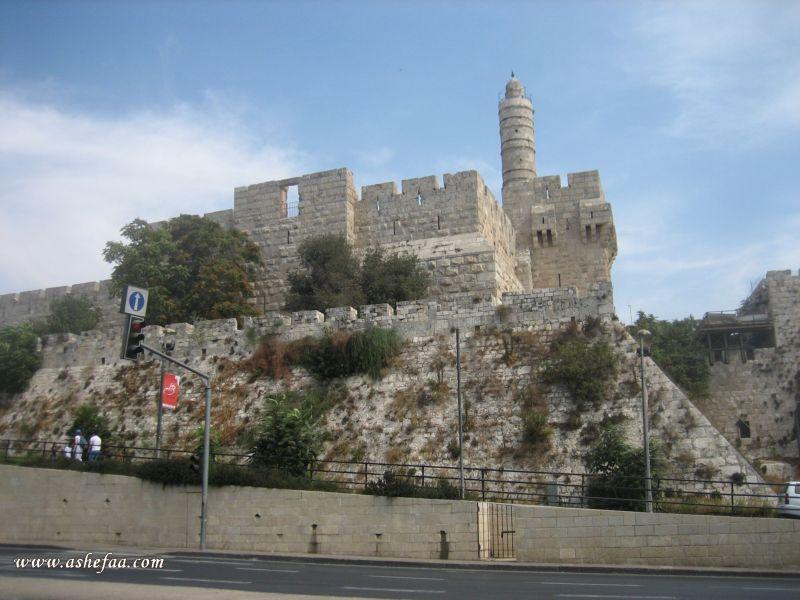 """بالصور  .. """"قلعة باب الخليل"""" تاريخ منذ عهد اليبوسيين الاوائل"""