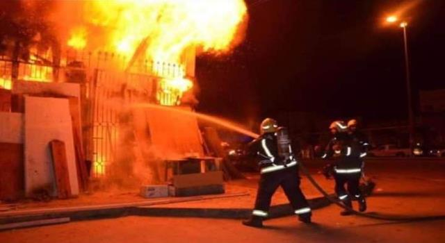 """مواقع التواصل الأردنية """"تتشح"""" بالسواد حزناً على وفاة الطفلة ميس و شقيقيها بحريق منزلهم"""