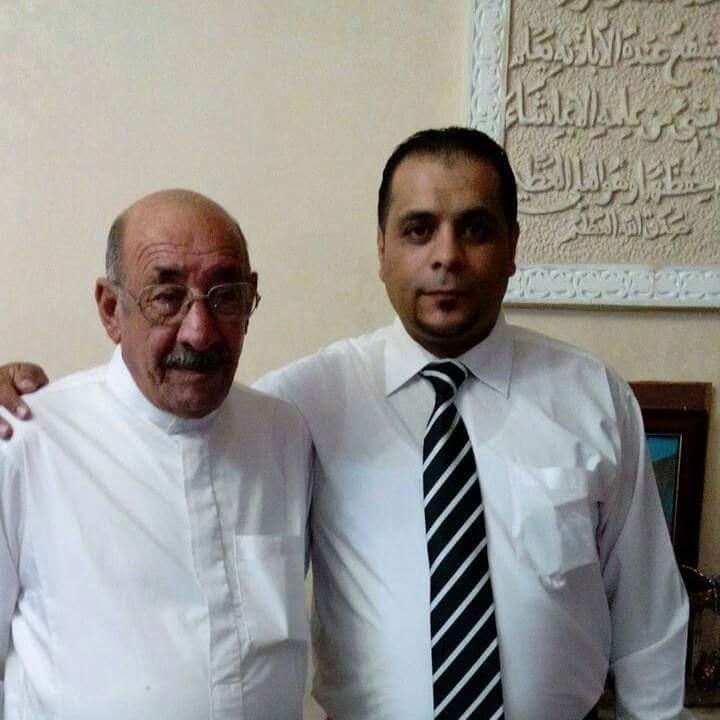 عمر العكايله يهنئ الاستاذ صبري خريسات