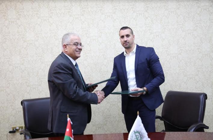 جامعة الزيتونة الاردنية توقع اتفاقية مع مبادرة الشرق الاوسط للاستثمار