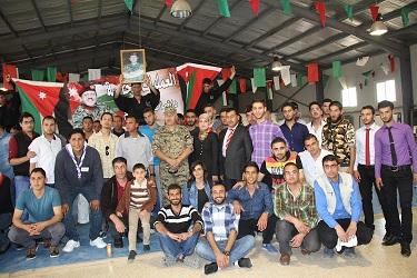 وفد طلابي من اليرموك يزور مدرسة الأمير هاشم للعمليات الخاصة