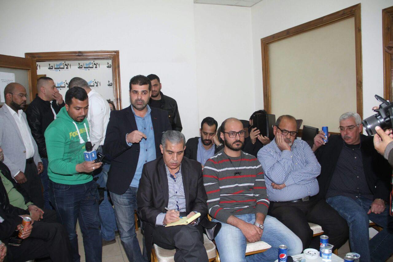 بيان صحفي .. لقاء صحفيي جمع السبيل والانباط