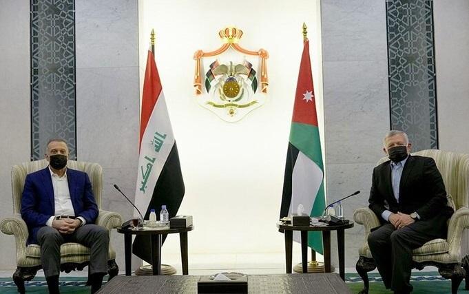 الملك والكاظمي يؤكدان ضرورة عقد القمة الثلاثية