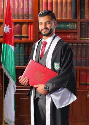 المهندس عبدالله نمر خرفان  ..  مبارك التخرج