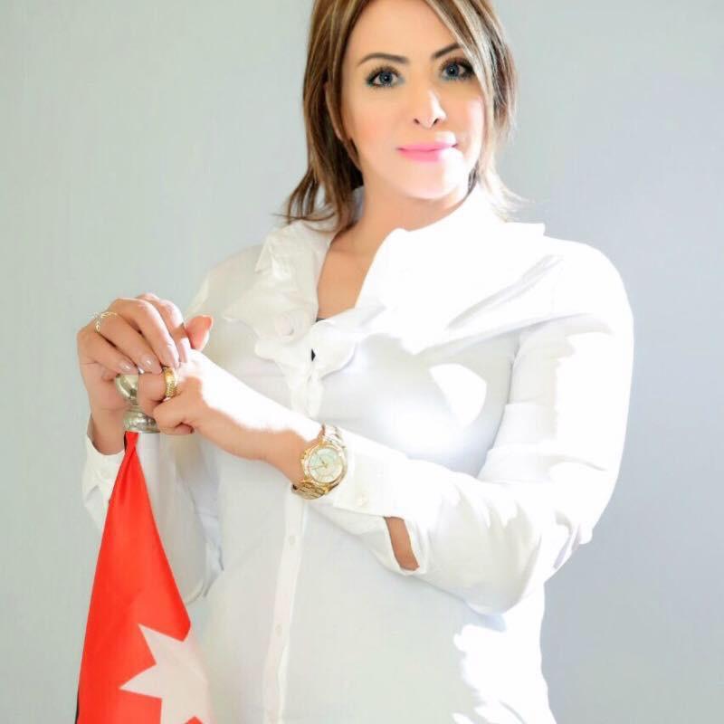 الناشطة رانيا حدادين الى العراق للمشاركة بالمؤتمر الدولي العاشر لمناهضة العنف ضد المرأة