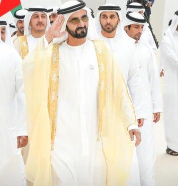 "بالصور  ..  زفاف (3 ) من ابناء الشیخ محمد بن راشد بحضور ""بن زاید"" في دبي"