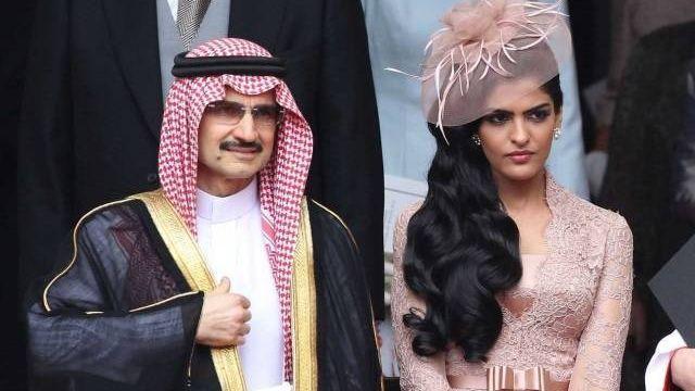طليقة الوليد بن طلال تنجب من زوجها الإماراتي