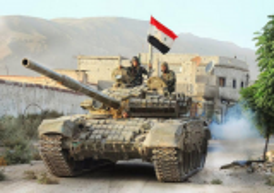 """الجيش السوري يبدأ """"هجوما واسعا"""" لاستعادة مناطق"""