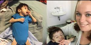 بالفيديو والصور .. عندما رأت صور الطفل المروعه على فيسبوك ..فعلت ما لم يكن متوقعا!
