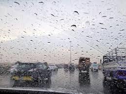 الكرك :أجواء مغبرة وزخات مطرية