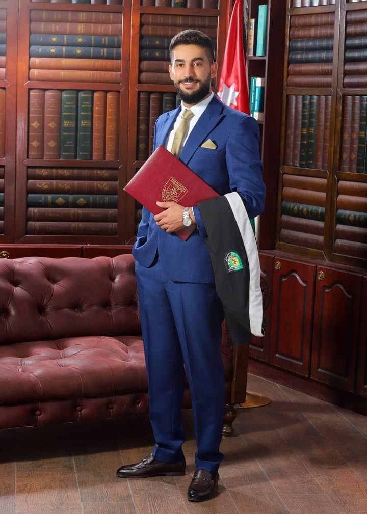 المهندس محمد باسم العلاوين  ..  مبارك التخرج