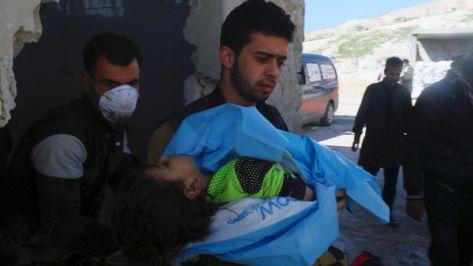 ''حظر الأسلحة الكيميائية'': غاز السارين استخدم في هجوم إدلب