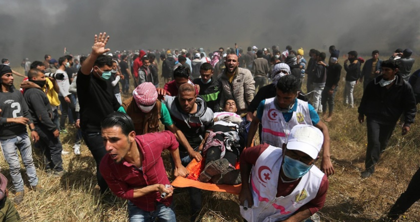 استشهاد طفل فلسطيني برصاص الاحتلال شمال غزة