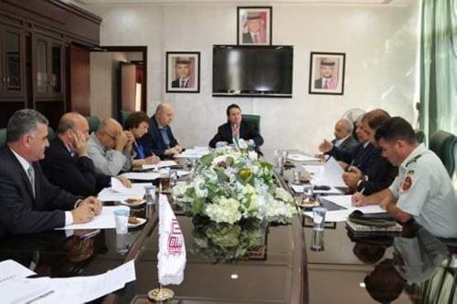"""اجتماع اللجنة العليا لتاريخ الأردن في """"المكتبة الوطنية"""""""