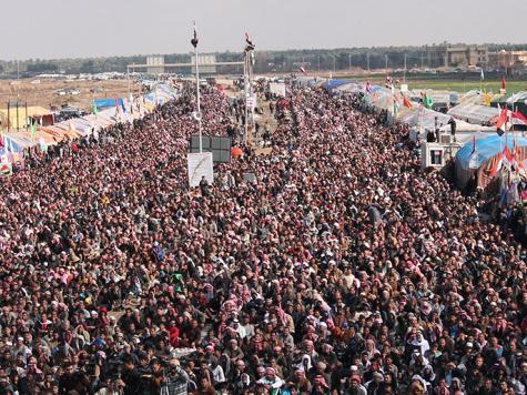 مظاهرات مليونية في العراق تطالب بإقالة المالكي