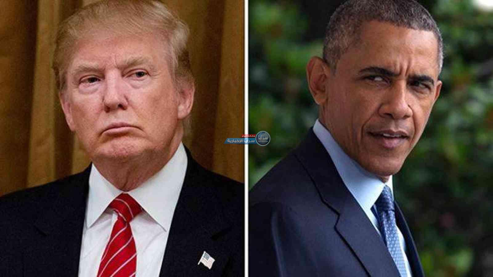 الكشف عمّا دار بين أوباما وترامب داخل السيارة يوم تنصيب الأخير رئيسا لأمريكا
