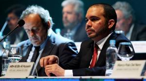 بلاتيني يدعم ترشح سمو الامير علي لرئاسة الفيفا