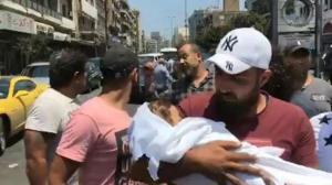 """بالصور و الفيديو  ..  حدث في دولة عربية  ..  """"مات ابني بين يدي""""  ..  صرخة و دموع أب فقد """"فلذة كبده"""" تٌشعل مواقع التواصل"""