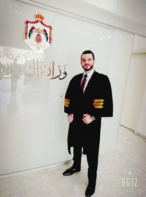 المحامي محمود الشعار مبارك اداء القسم للمحامين
