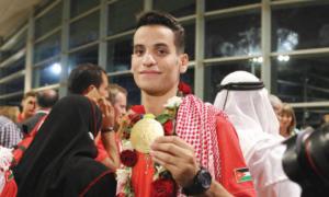 أبو غوش: بطل من ذهب ومسيرة حافلة بالتحدي