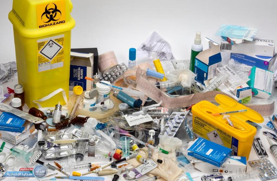 إنذار 19 عيادة لمخالفتها شروط فرز النفايات الطبية  ..  تفاصيل