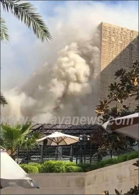 """إخماد حريق في احد فنادق عمان  .. """"تفاصيل"""""""