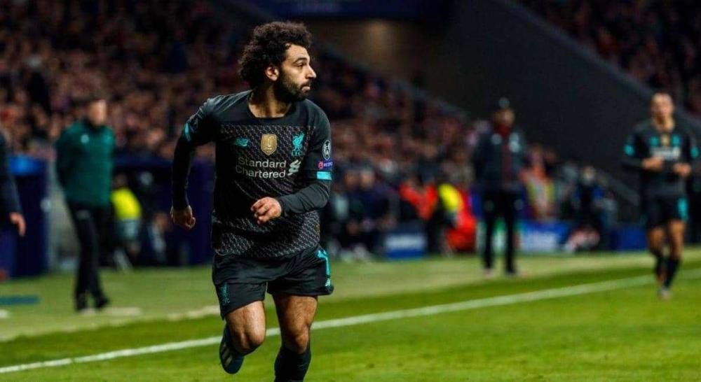 محمد صلاح يتوعد أتلتيكو مدريد بـ كلمتين