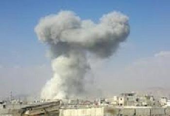 قذيفتا هاون بالقرب من قصر تشرين الرئاسي في دمشق