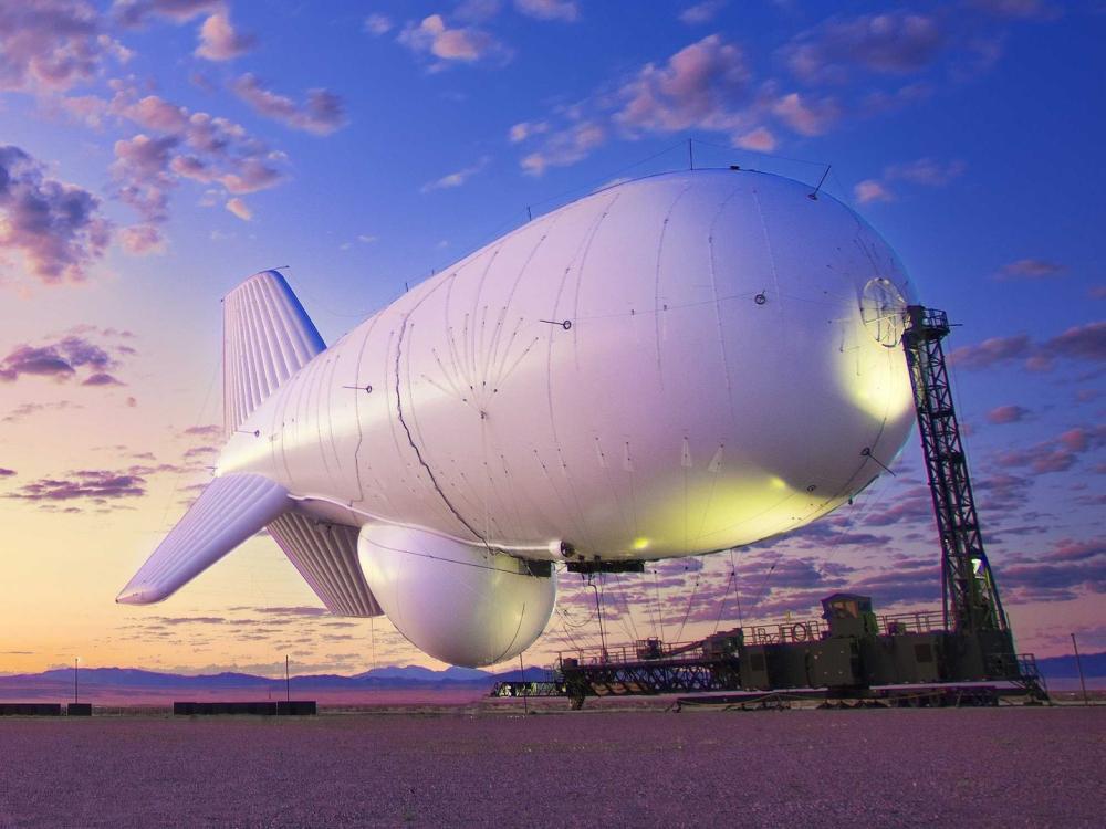 أحد مؤسسي شركة غوغل يبني أكبر منطاد في العالم!