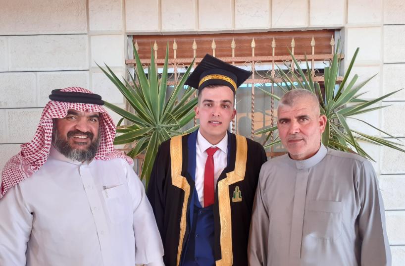 مبارك التخرج لقصي الخوالده