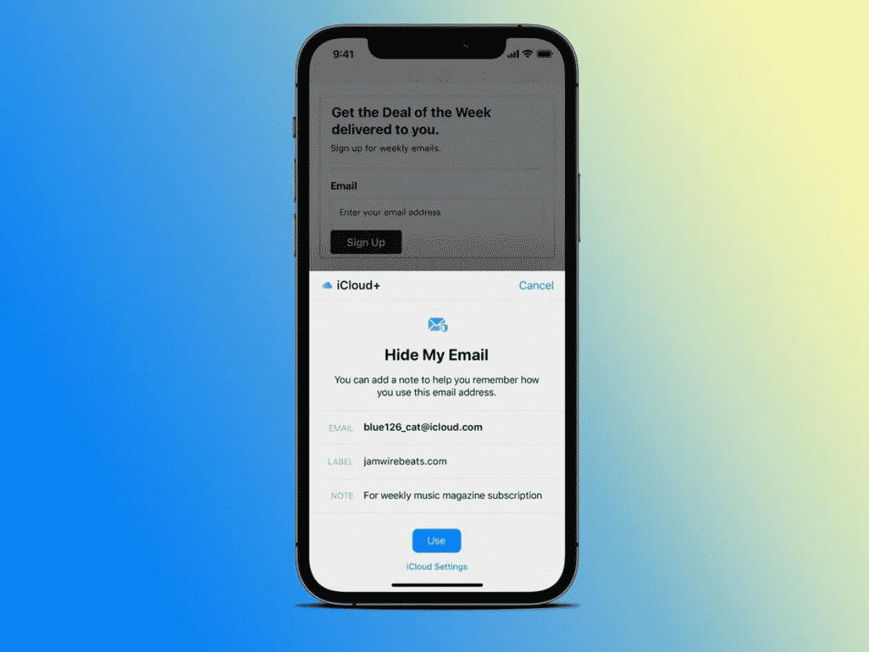 تفعيل إعدادات الخصوصية في iOS 15