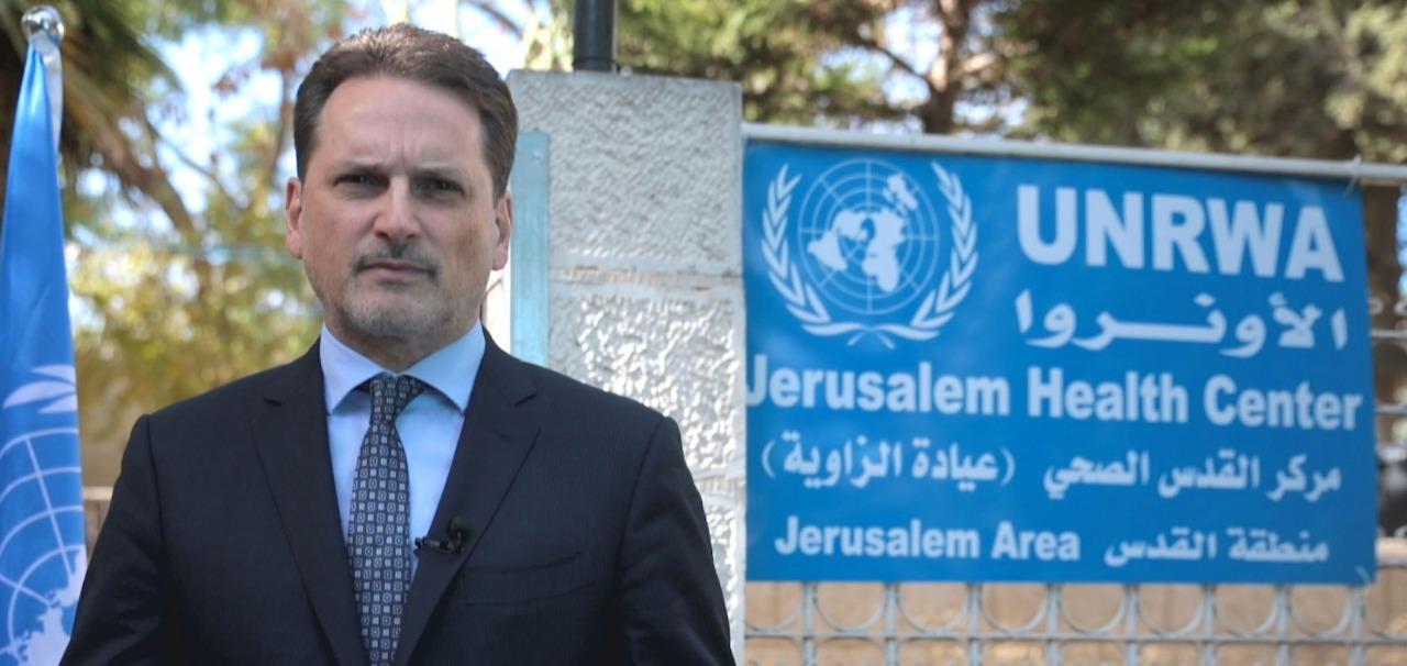 المفوض العام: التدخلات الإسرائيلية تضغط الأونروا ..  وعلى العرب زيادة دعم الوكالة