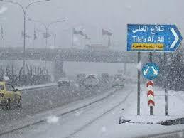 طقس العرب يحدد موعد دخول العاصفة القطبية وتساقط الثلوج في الاردن