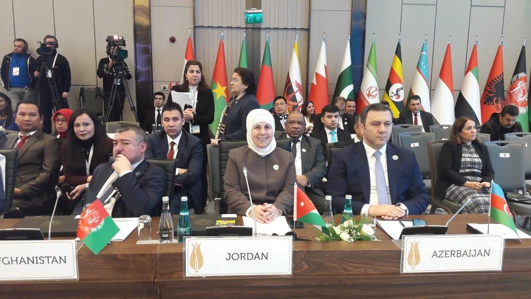 اسحاقات تتراس الوفد الاردني لاجتماعات المؤتمر الوزاري حول التنمية الاجتماعية