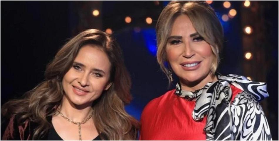 بالفيديو ..  نيللي كريم وإيناس الدغيدي تبكيان على الهواء