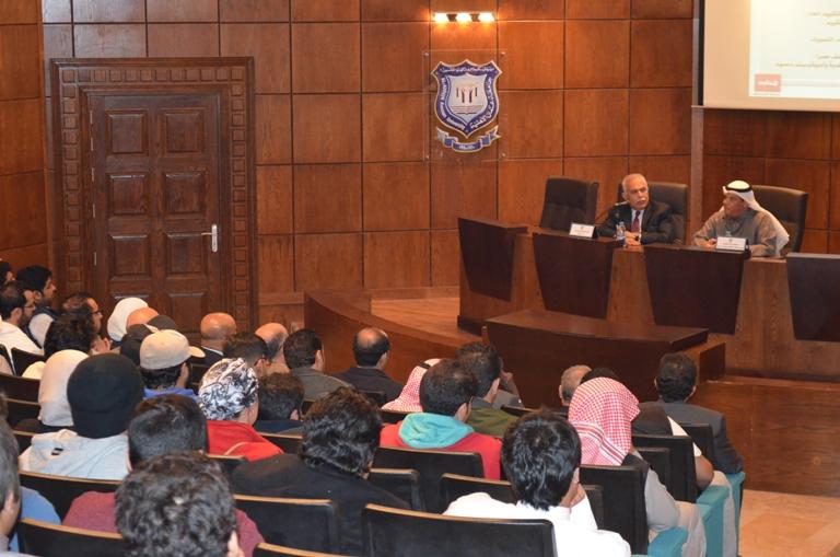 رئيس المكتب الثقافي الكويتي يزور جامعة عمان الأهلية ويلتقي الطلبة الكويتيين