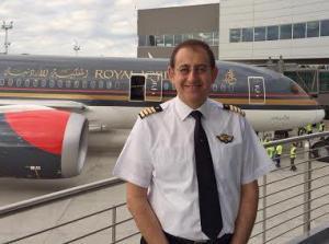 الكابتن هيثم مستو مديراً عاماً للملكية الأردنية بالوكالة