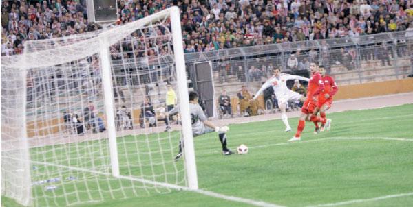 تصفيات كأس آسيا: فوز منتخبنا الوطني على سنغافورة برباعية