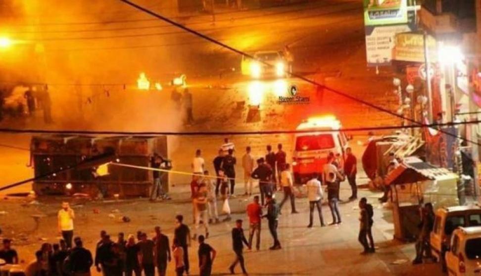 """21 إصابة واعتقال مواطن خلال مواجهات """"ليلية"""" في بيتا جنوب نابلس"""